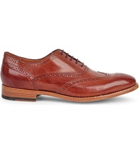 Paul Smith Cristo Leather Brogues Tan