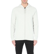 Tiger Of Sweden Grain Cotton Jersey Hoody Off White