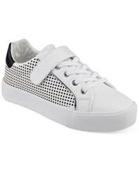 Guess Women's Darina Perforated Sneakers Women's Shoes White