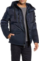 Marc New York Stanton Oxford Puffer Jacket Ink