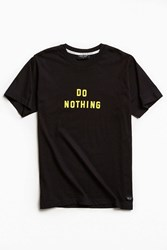 Lazy Oaf Do Nothing Tee Black