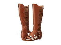 Michael Antonio Creevey Cognac Women's Dress Pull On Boots Tan