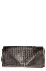 Whiting And Davis Crystal Triangle Clutch
