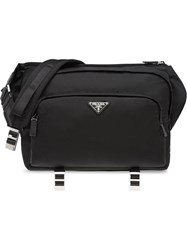 Prada Technical Messenger Bag Black