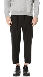 3.1 Phillip Lim Relaxed Fit Cropped And Tapered Trousers Black