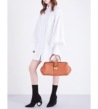 Burberry Loose Fit Cotton Shirt Dress White