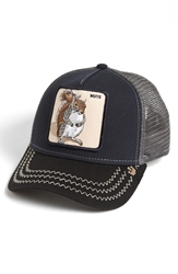 Goorin Bros. 'Animal Farm Squirrel Master' Trucker Hat Navy