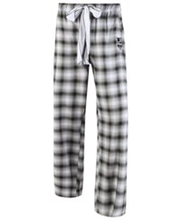 Concepts Sport College Women's Los Angeles Kings Forge Flannel Pants Black Gray