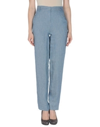 Les Prairies De Paris Casual Pants Azure