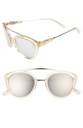 Westward Leaning Women's 'Flower' 51Mm Sunglasses Champagne Shiny