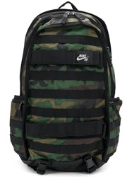Nike Camouflage Backpack Green