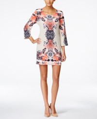 Styleandco. Style And Co. Petite Printed Shift Dress Only At Macy's