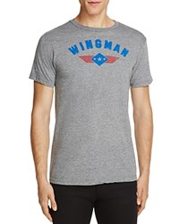 Kid Dangerous Wingman Graphic Tee Medium Gray
