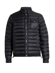 Moncler Christopher Quilted Down Jacket Navy