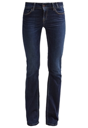 Teddy Smith Bootcut Jeans Old Encre Raw Denim
