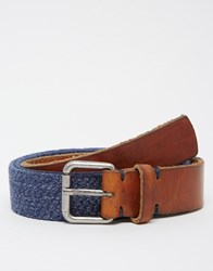 Selected Homme Stephan Belt Blue