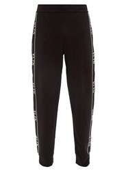 Valentino Vltn Side Stripe Trousers Black