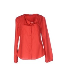 Strenesse Blue Shirts Shirts Women Red