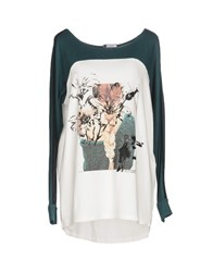 Fly Girl T Shirts Deep Jade