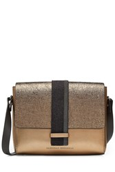 Brunello Cucinelli Leather Shoulder Bag With Embellishment