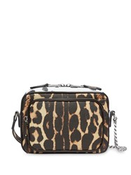 Burberry Animal Print Leather Camera Bag Multicolour