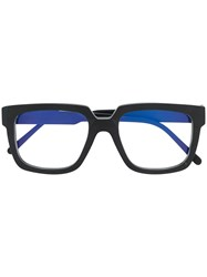 Kuboraum Two Tone Square Frame Glasses Bm