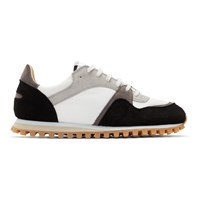 Spalwart Black And White Marathon Trail Low Sneakers