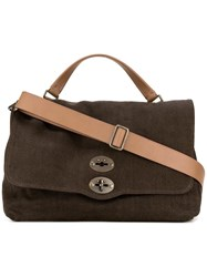 Zanellato Medium Shoulder Bag Brown