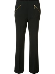 Rachel Zoe Zipped Pocket Trousers Black