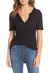 Madewell Women's Anthem Split Neck Tee