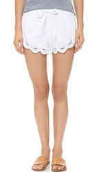 Blank Lace Shorts Strip Down