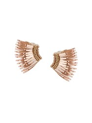 Mignonne Gavigan Wings Beaded Earrings Nude And Neutrals