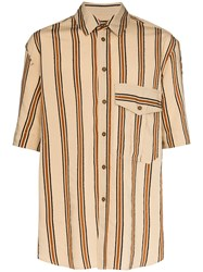 Song For The Mute Oversized Striped Shirt 60