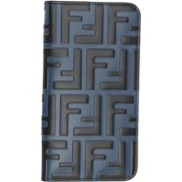 Fendi Blue And Black Forever Iphone X Case