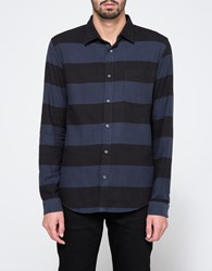 Cheap Monday Bold Shirt Wide Shirt Cell Blue