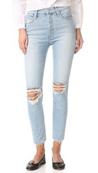 Mother Miranda The Super Stunner Ankle Jeans Easy Does It