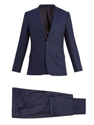 Paul Smith Single Breasted Wool Suit Navy