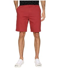 Dockers 9.5 Stretch Perfect Short Bank Red Stretch Shorts