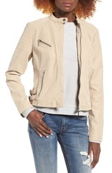 Collection B Women's Bernardo Faux Leather Moto Jacket