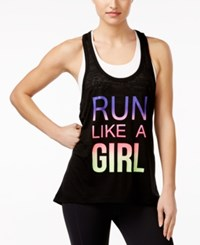 Ideology Mommy And Me 'Run Like A Girl' Tank Top Only At Macy's Noir