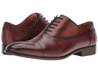 Steve Madden Poter Tan Men's Lace Up Cap Toe Shoes
