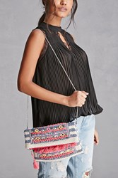Forever 21 America And Beyond Embroidered Bag Multi