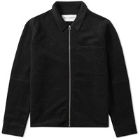 Our Legacy Splash Raw Edge Blouson Black