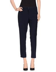 Orion London Trousers Casual Trousers Women Dark Blue