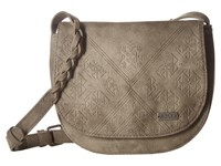 Roxy Material Love Heritage Heather Cross Body Handbags Gray