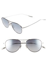 Salt Men's 'Meadows' 54Mm Polarized Aviator Sunglasses Tempest
