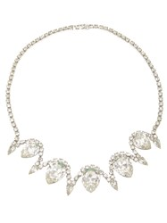 Katheleys Vintage Glamour Necklace White