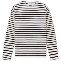 Norse Projects Long Sleeve Godtfred Compact Tee Blue