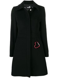 Love Moschino Perfectly Fitted Coat Black