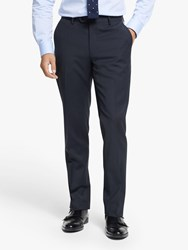 Hackett London Stretch Fit Suit Trousers Navy